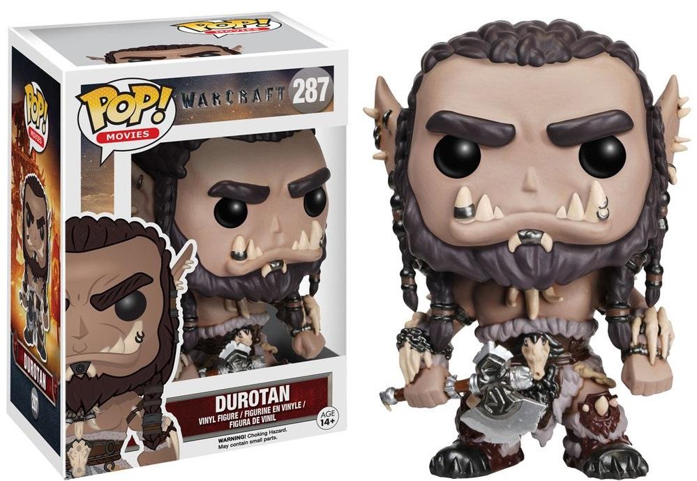 Фигурка Funko POP Movies Warcraft: Durotan (9,5 см)Фигурка Funko POP Movies Warcraft: Durotan создана по мотивам приключенческого фильма, действие которого происходит в вымышленной вселенной Warcraft.<br>