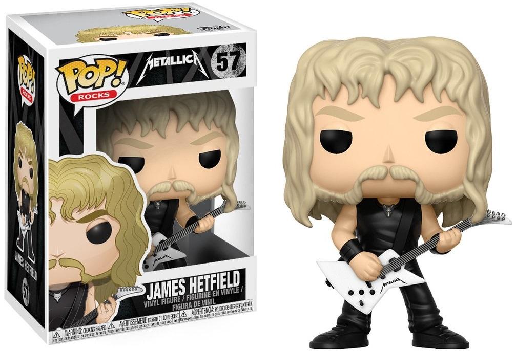 Фигурка Funko POP Rocks Metallica: James Hetfield (9,5 см)Фигурка Funko POP Rocks Metallica: James Hetfield воплощает собой лидера и одного из основателей группы Metallica, Джеймса Хэтфилда.<br>