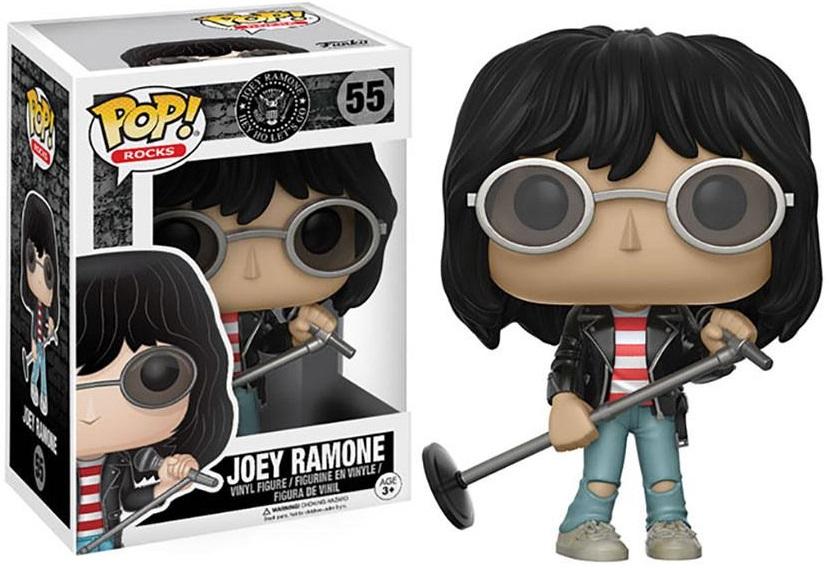 Фигурка Funko POP Rocks: Joey Ramone (9,5 см)Описание фигурки Funko POP Rocks: Joey Ramone: &#13;<br>&#13;<br>Фигурка Funko POP Rocks: Joey Ramone воплощает собой американского музыканта Джоуи Рамона, лидера группы Ramones.<br>