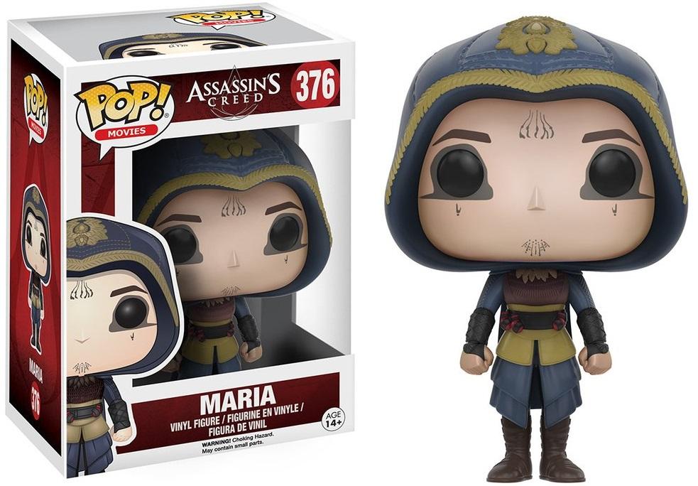 Фигурка Funko POP Movies Assassins Creed: Maria (9,5 см)Фигурка Funko POP Movies Assassins Creed: Maria создана по мотивам американского научно-фантастического боевика «Кредо убийцы» по мотивам популярной серии компьютерных игр «Assassin's Creed».<br>