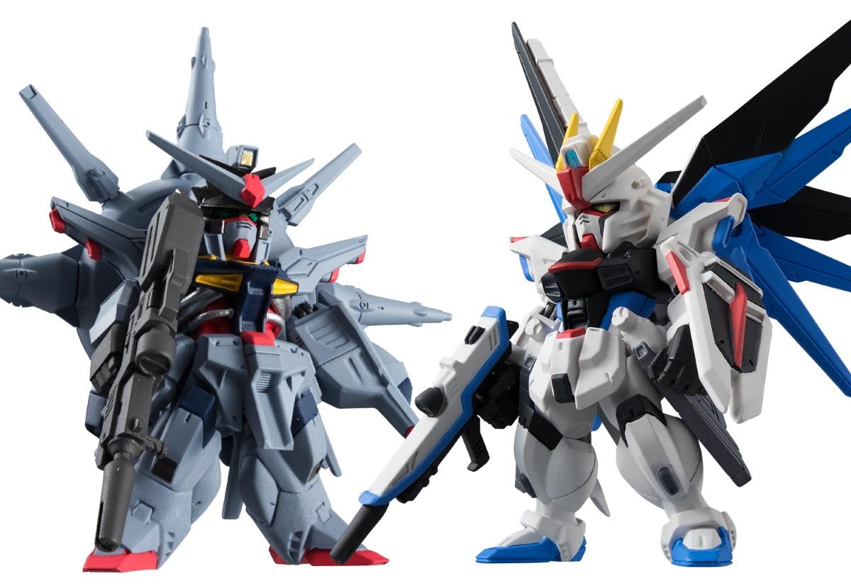 Фигурка FW Gundam Converge Collection: Freedom &amp; Providence (6 см)Фигурка FW Gundam Converge Collection: Freedom &amp;amp; Providence создана по мотивам аниме сериала «Mobile Suit Gundam SEED Destiny», действия которого происходят по прошествии двух лет со дня окончания воины между EAF (Натуральными) и PLANT (Координаторами).<br>
