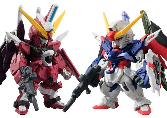 Фигурка FW Gundam Converge Collection: Destiny & Infinite (6 см) bandai фигурка fw gundam converge sp08 destiny