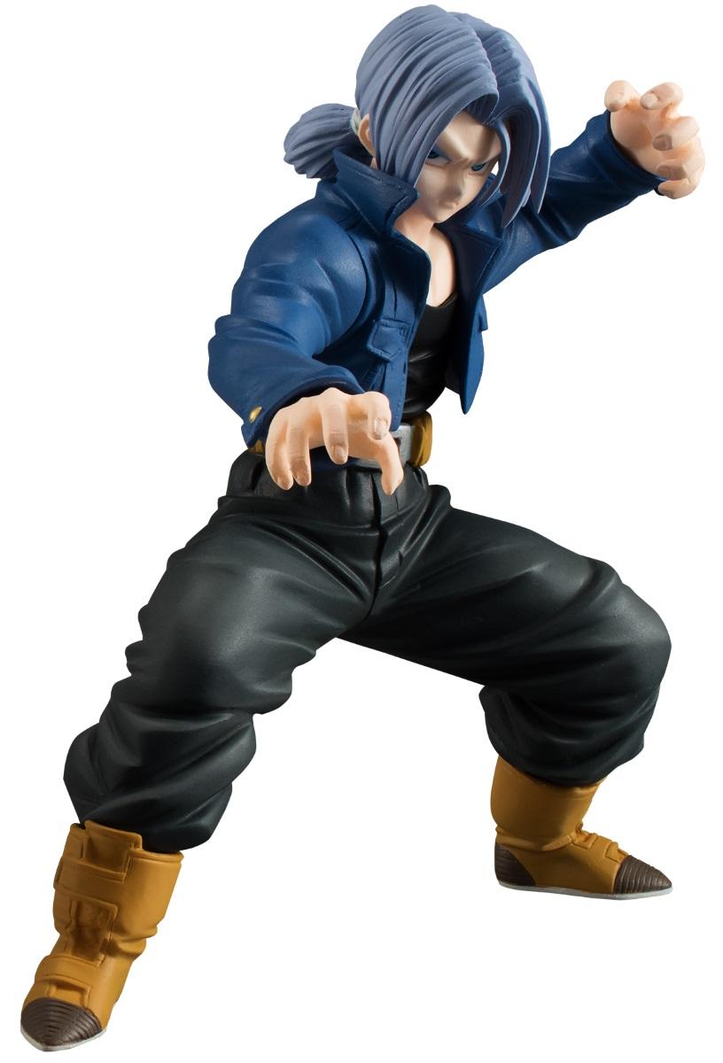 Фигурка Dragon Ball Z Styling: Trunks (11,5 см)Фигурка Dragon Ball Z Styling: Trunks создана по мотивам аниме-сериала, адаптации последних 325 глав манги Акиры Ториямы «Жемчуг дракона».<br>