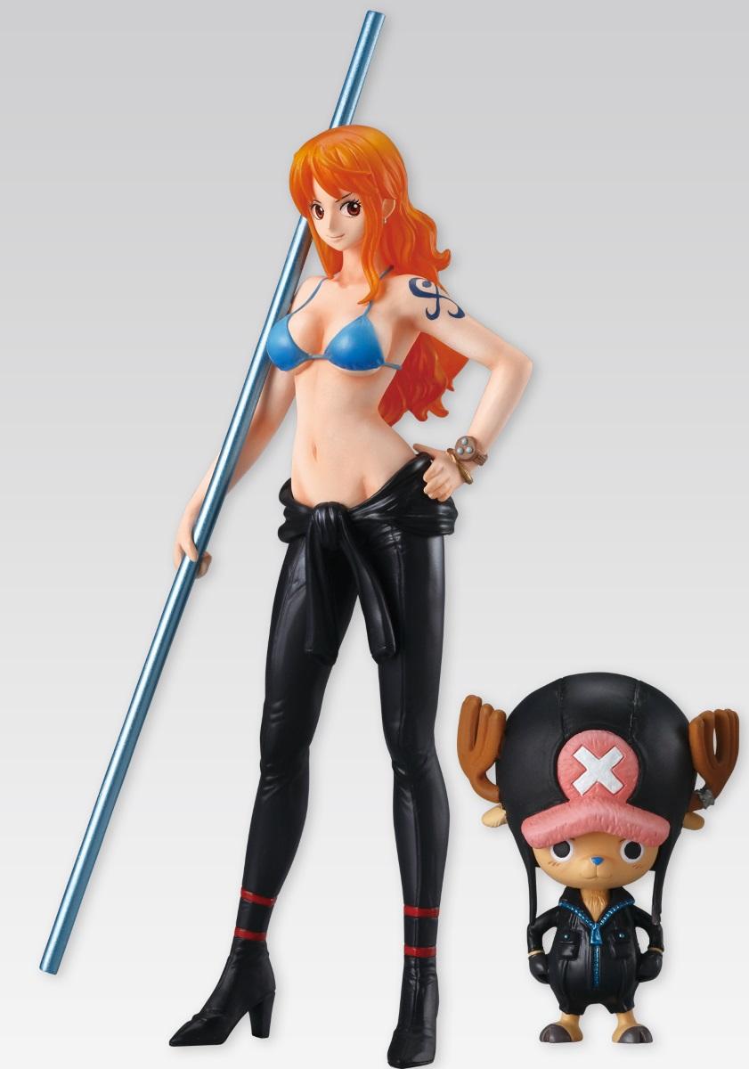 Фигурка Super One Piece Styling Film Gold: Nami &amp; Chopper (14 см)Фигурка Super One Piece Styling Film Gold: Nami &amp;amp; Chopper создана по мотивам аниме One Piece.<br>
