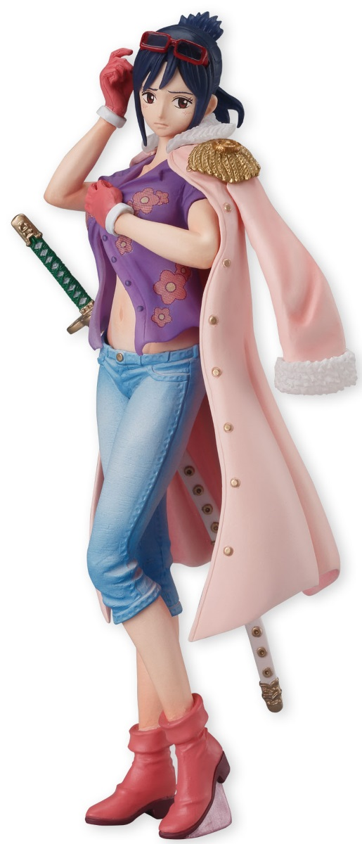 Фигурка One Piece Styling Girls Selection: Tashigi (14 см)Фигурка One Piece Styling Girls Selection: Tashigi создана по мотивам аниме One Piece.<br>
