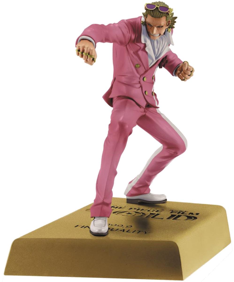 Фигурка One Piece DXF Manhood 2: Gild Tesoro (15 см)Фигурка One Piece DXF Manhood 2: Gild Tesoro создана по мотивам аниме One Piece. Гилдо Тесоро – главный антагонист One Piece. Он являлся «Королём Казино» и владельцем Гран Тесоро, самого большого развлекательного города в мире, прежде чем его свергли и арестовали.<br>