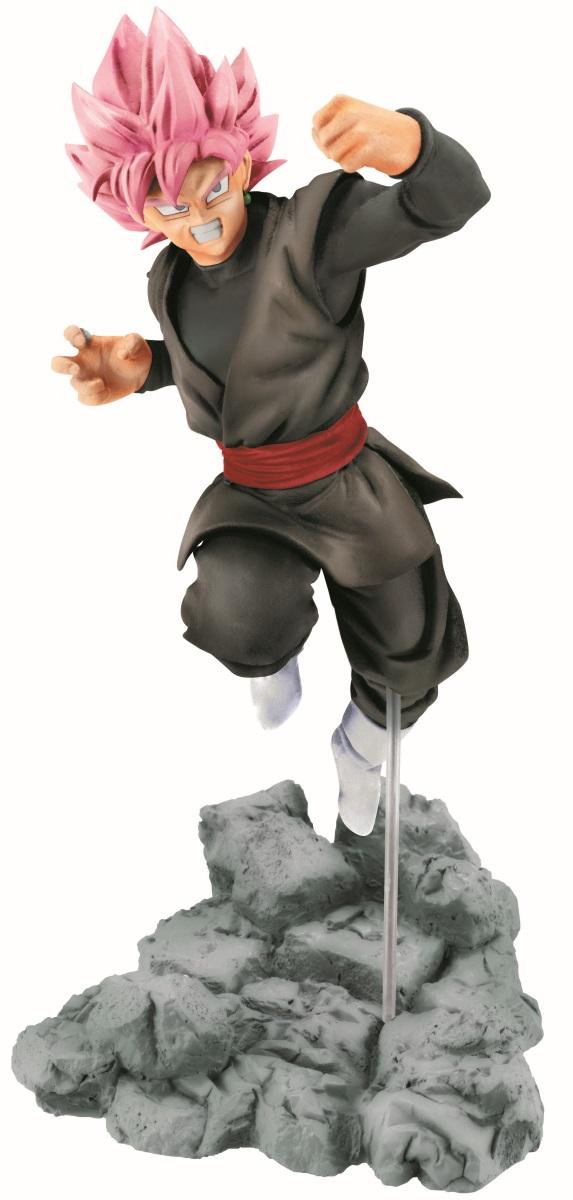 Фигурка Dragon Ball Z Soul X Soul: Goku Black (10 см)Фигурка Dragon Ball Z Soul X Soul: Goku Black создана по мотивам аниме-сериала, адаптации последних 325 глав манги Акиры Ториямы «Жемчуг дракона». Саяджин, тёмная копия Сон Гоку.<br>