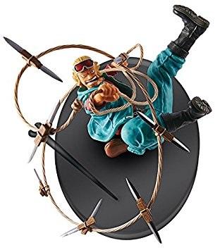 Фигурка One Piece: Pauly SCulture Big Z4 (9 см)Фигурка One Piece: Pauly SCulture Big Z4 создана по мотивам аниме One Piece. Паули является одним из трёх мастеров Первого Дока Water 7, специализирующихся в такелажах, узлах и мачтах.<br>