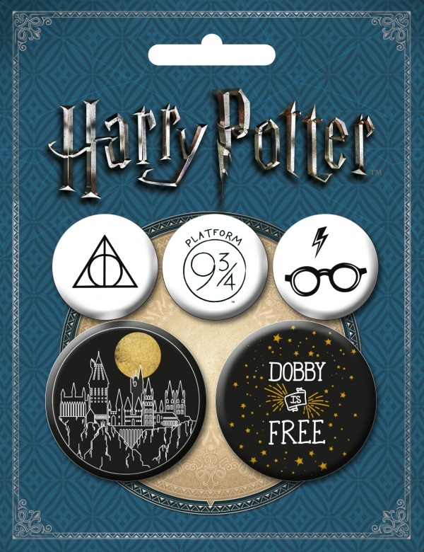 цена на Набор значков Harry Potter №2 (5 шт.)