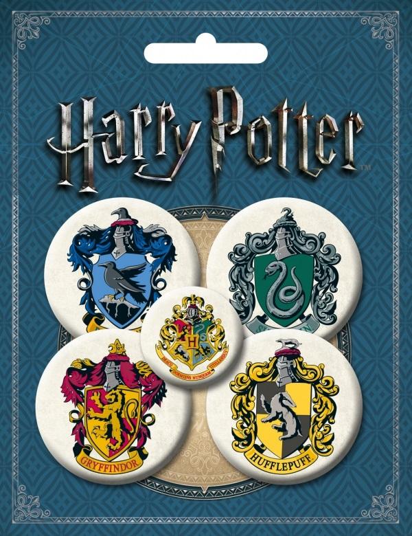 Набор значков Harry Potter №1 (5 шт.)Набор значков Harry Potter №1 – лицензионная продукция вселенной Гарри Поттера! В 2017 году исполнилось 20 лет великой магической вселенной! Огромная программа продвижения серии.<br>