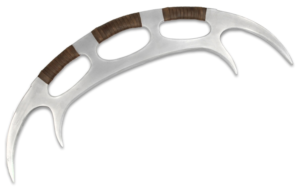 Копия оружия Star Trek The Next Generation: Klingon Bat`leth (120 см) the monster next door