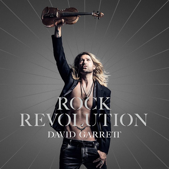 David Garrett. Rock Revolution (CD+DVD) альбом для cd и dvd в интернет магазине в спб