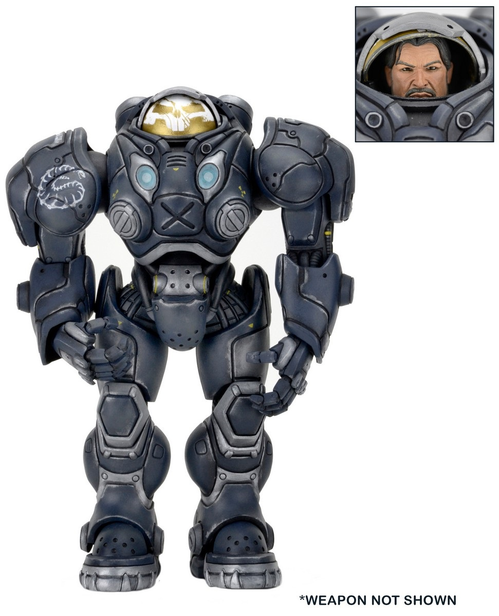 Фигурка Heroes Of The Storm: Renegade Commander Raynor (17 см) фигурки игрушки neca фигурка dawn of the planet of the apes 7 series 1 caesar