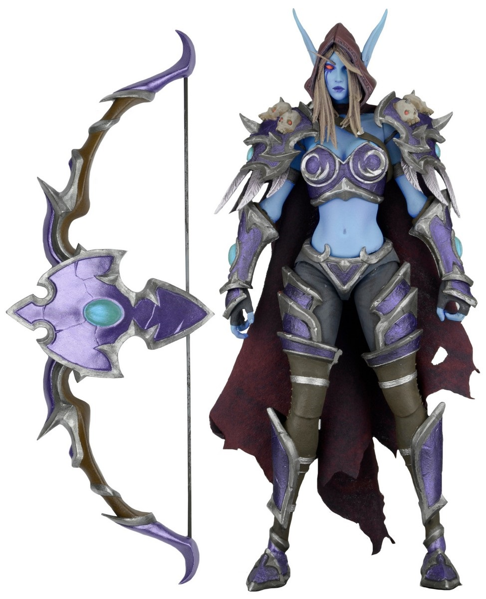 Фигурка Heroes Of The Storm: The Banshee Queen Sylvanas (17 см)Фигурка Heroes Of The Storm: The Banshee Queen Sylvanas создана в сотрудничестве с Blizzard, аутентичный дизайн.<br>