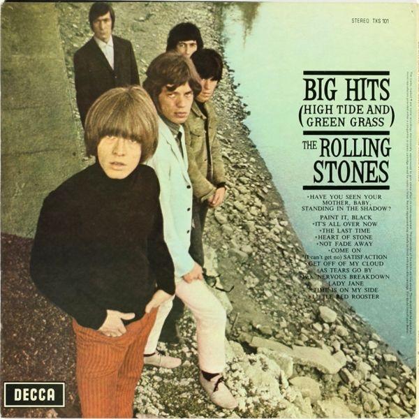 The Rolling Stones – Big Hits (High Tide And Green Grass) (LP)Big Hits (High Tide And Green Grass) – первая компиляция с хитами легендарной рок-группы The Rolling Stones, которая вышла в 1966 году.<br>