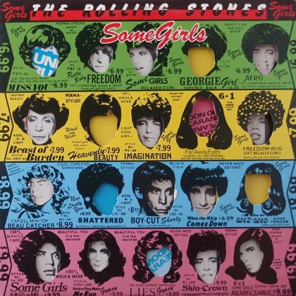 The Rolling Stones – Some Girls (LP) the rolling stones – some girls lp