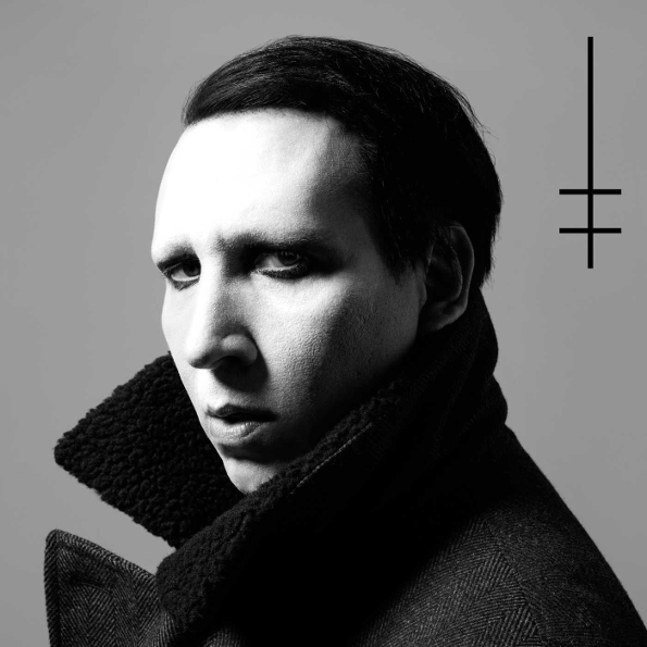Marilyn Manson – Heaven Upside Down (LP) upside down cd cdr by rick sampedro level e