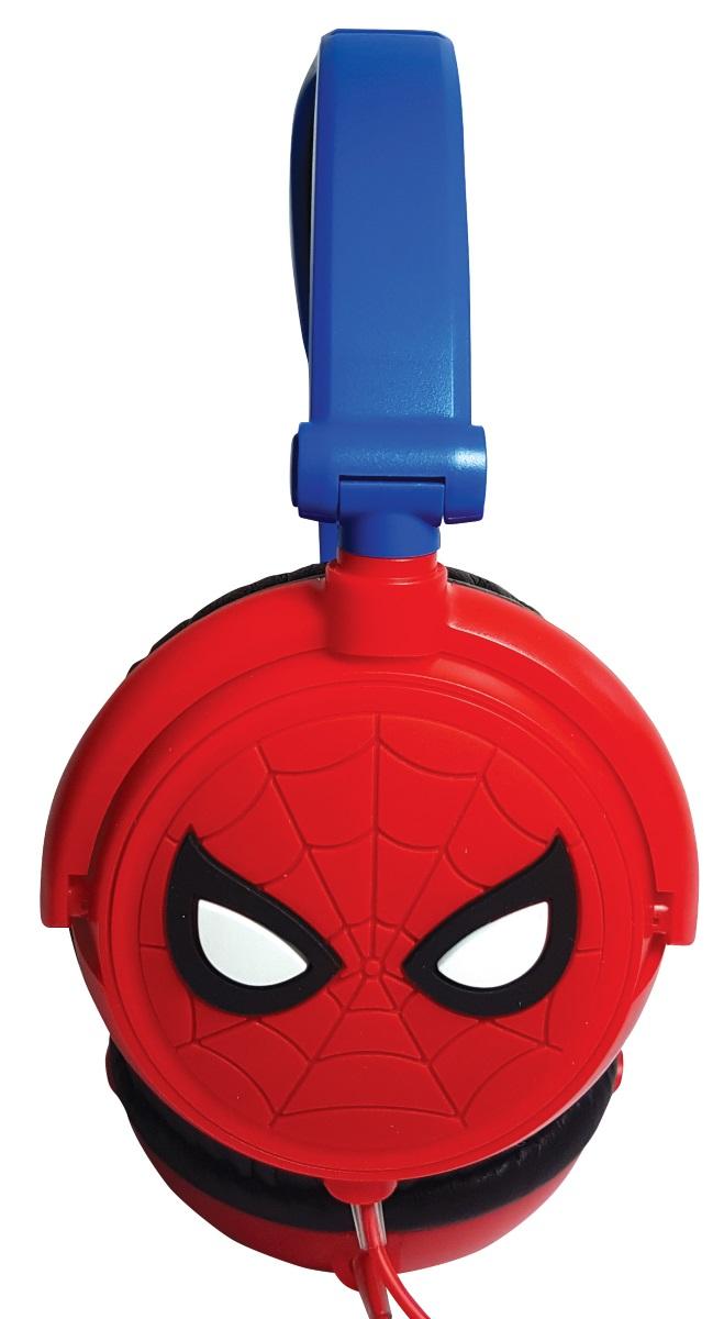 Наушники Spider-ManСкладные наушники Spider-Man с регулируемым оголовьем созданы по мотивам вселенной Marvel.<br>