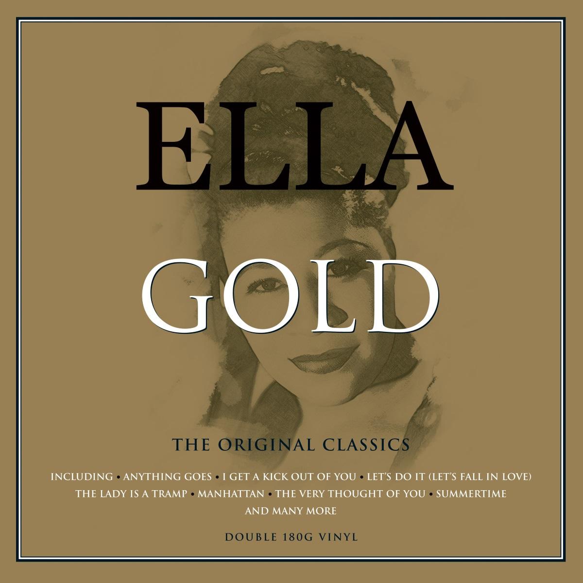 Ella Fitzgerald – Gold (2 LP) элла фитцжеральд дайна вашингтон the golden era of jazz vol 3 ella fitzgerald