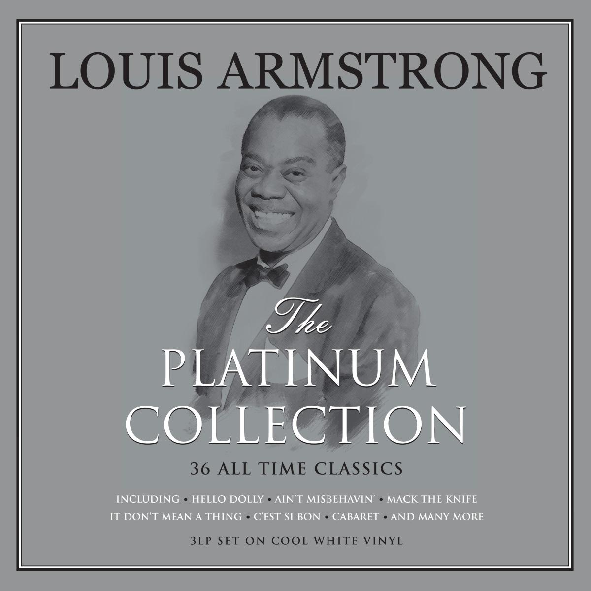 Louis Armstrong – The Platinum Collection (3 LP)В альбоме Louis Armstrong – The Platinum Collection собраны лучшие композиции самого известного и влиятельного трубача мира, который сформировал лицо джаза.<br>