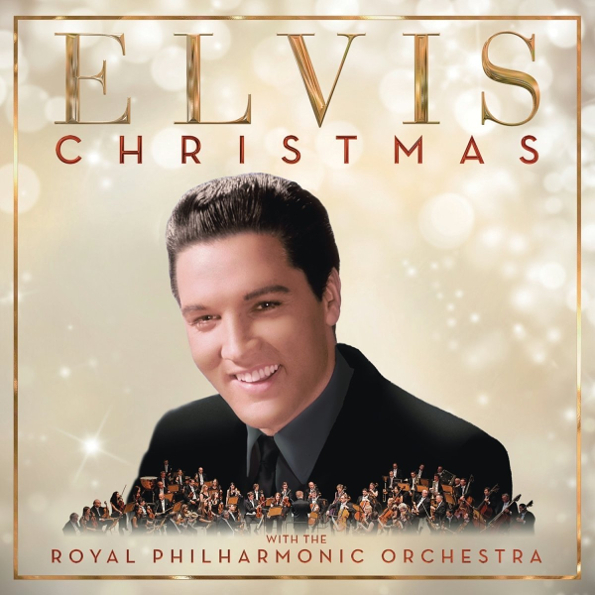 Elvis Presley with The Philharmonic Orchestra – Christmas (LP)
