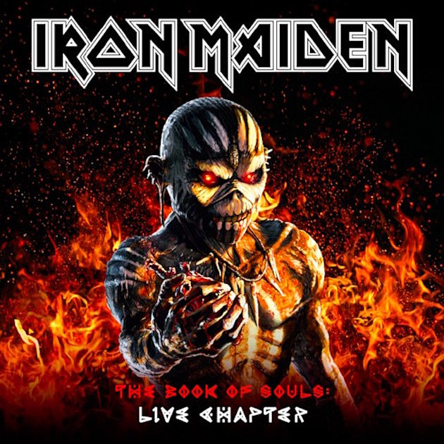 Iron Maiden – The Book Of Souls: Live Chapter (3 LP) iron maiden the book of souls 3 lp