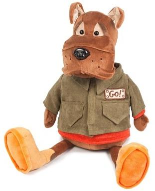 Мягкая игрушка Бульдог Рокки в куртке (23 см) малышарики мягкая игрушка собака бассет хаунд 23 см