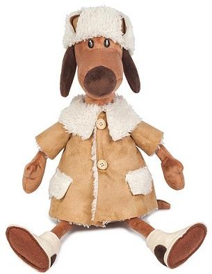 Мягкая игрушка Пес Ипполит в дубленке (28 см)Мягкая игрушка Пес Ипполит в дубленке воплощает собой символ 2018 года и станет прекрасным подарком для малыша, а также для взрослого.<br>