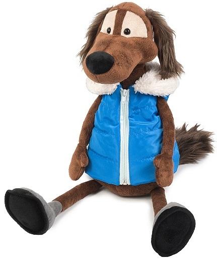 Мягкая игрушка Пес Шерлок в жилетке (23 см) мягкая озвученная игрушка пес шарик 34 см