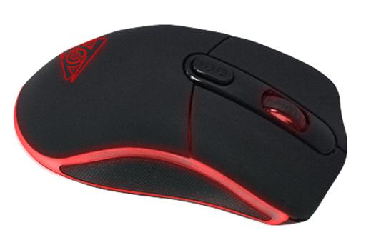 Мышь Qcyber Hype проводная лазерная игровая c подсветкой для PC