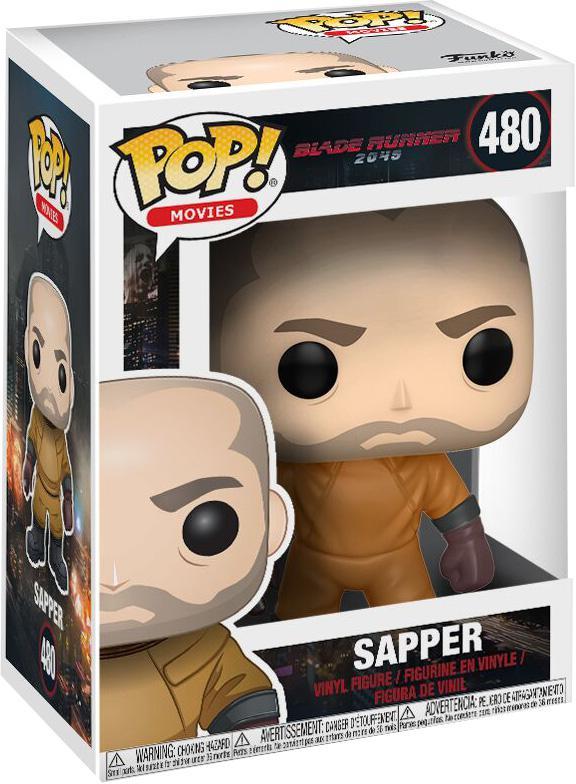 Фигурка Funko POP Movies Blade Runner 2049: Sapper (9,5 см)Закажите фигурку Funko POP Movies Blade Runner 2049: Sapper и получите дополнительные 65 бонусов на вашу карту.<br>