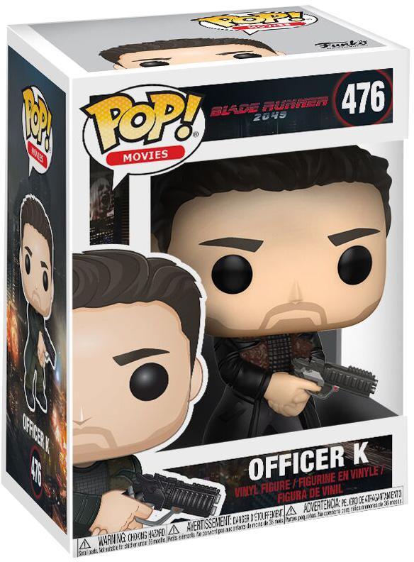 Фигурка Funko POP Movies Blade Runner 2049: Officer K (9,5 см)Закажите фигурку Funko POP Movies Blade Runner 2049: Officer K и получите дополнительные 65 бонусов на вашу карту.<br>