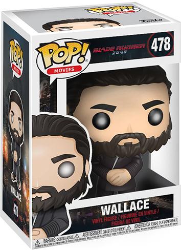 Фигурка Funko POP Movies Blade Runner 2049: Wallace (9,5 см)Закажите фигурку Funko POP Movies Blade Runner 2049: Wallace и получите дополнительные 65 бонусов на вашу карту.<br>