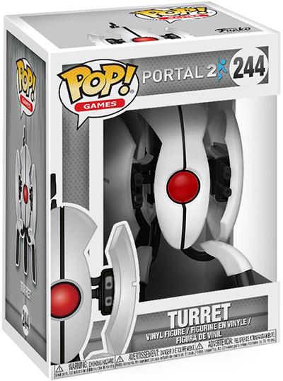 Фигурка Funko POP Games Portal 2: Turret (9,5 см)Фигурка Funko POP Games Portal 2: Turret воплощает собой героя компьютерной игры в жанре головоломки от первого лица Portal 2 – Турель, являющуюся основным препятствием для игрока в серии Portal. Имеющие неограниченный боезапас, предельную точность, они будут пытаться убить любого игрока, попавшегося в её луч.<br>