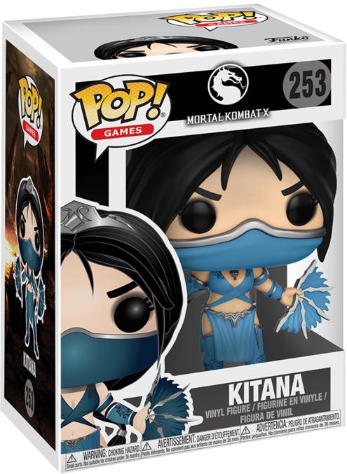 Фигурка Funko POP Games Mortal Kombat X: Kitana (9,5 см)Закажите фигурку Funko POP Games Mortal Kombat X: Kitana и получите дополнительные 65 бонусов на вашу карту.<br>