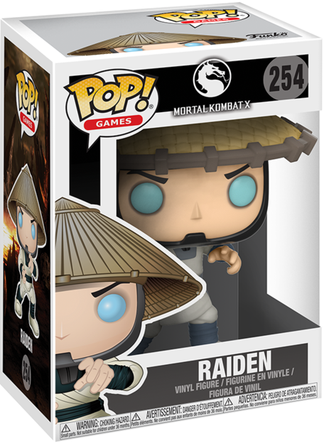 Фигурка Funko POP Games Mortal Kombat X: Raiden (9,5 см)