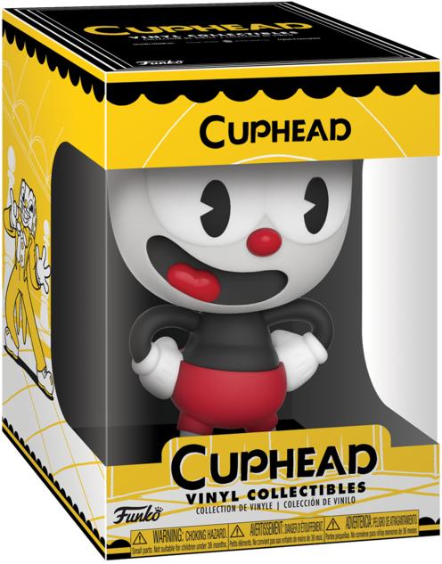 Фигурка Funko Vinyl Collectibles Cuphead: Cuphead (10 см)Закажите фигурку Funko Vinyl Collectibles Cuphead: The Devil и получите дополнительные 60 бонусов на вашу карту.<br>