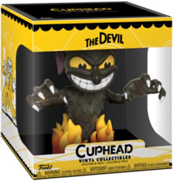 Фигурка Funko Vinyl Collectibles Cuphead: The Devil (15 см) r b parker s the devil wins