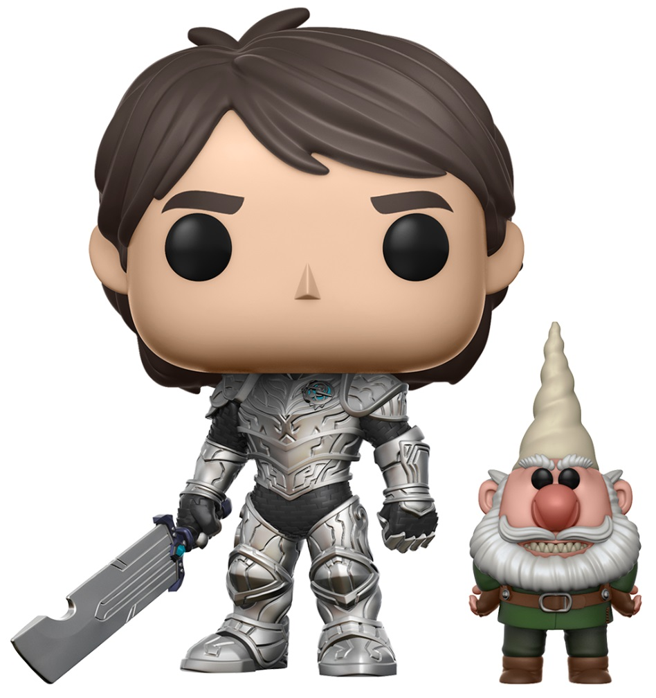 Фигурка Funko POP Television Trollhunters: Jim With Gnome (9,5 см) фигурка funko pop television stranger things hopper 9 5 см
