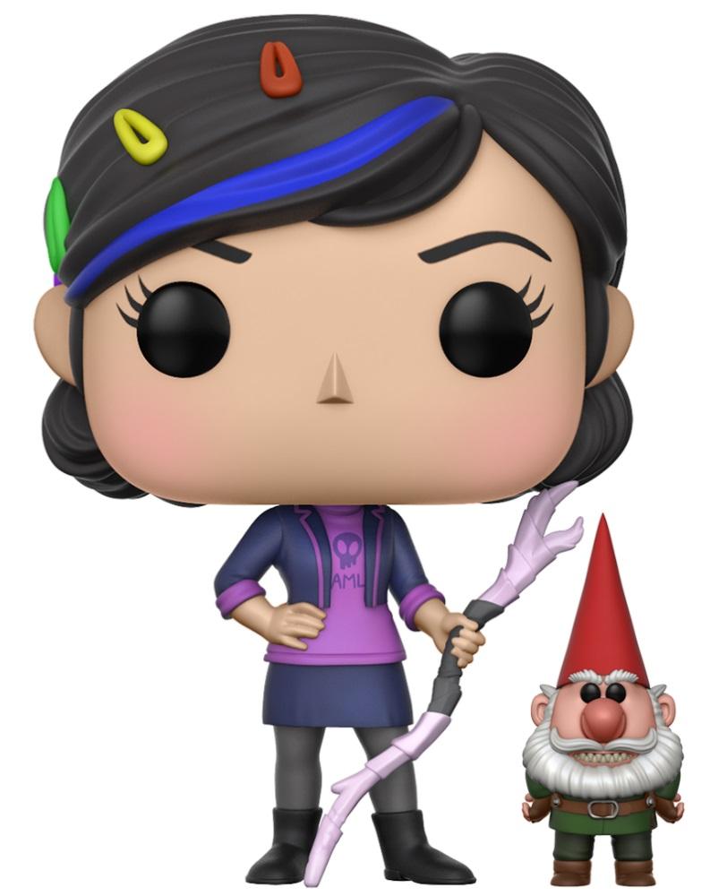 Купить со скидкой Фигурка Funko POP Television: Trollhunters – Claire With Gnome (9,5 см)
