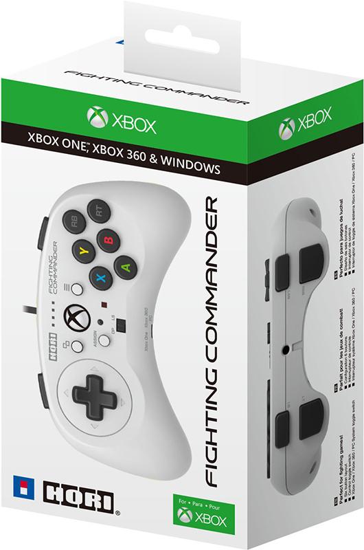 Проводной геймпад Hori Fighting Commander для Xbox One / PCОфициально лицензирован Microsoft. Fighting Commander является основным контроллером для файтингов, а также отлично работает на многих других 2D программных продуктов.<br>