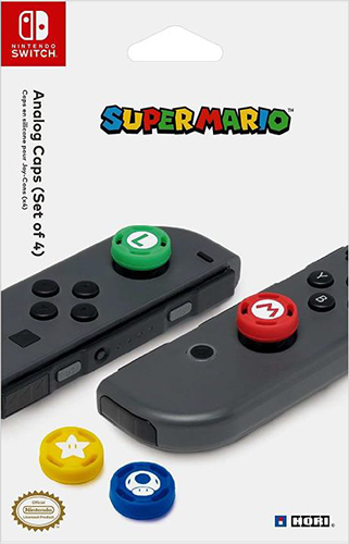 Сменные накладки Hori для контроллера Joy-Con – Super Mario для Nintendo Switch