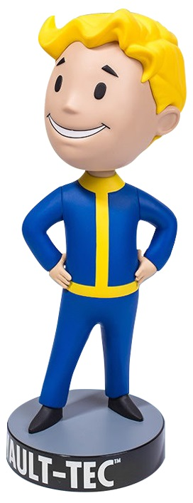 Коллекционная фигурка Fallout 4: Vault Boy 111 – Hands On Hips (30 см) фигурка fallout 4 vault boy 111 bobbleheads series two explosives 13 см
