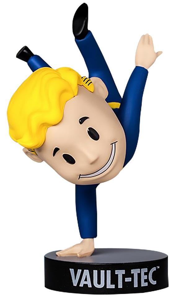 Коллекционная фигурка Fallout 4 Vault Boy 111 Bobbleheads: Agility – Series Three (13 см)Фигурка Fallout 4 Vault Boy 111 Bobbleheads: Agility – Series Three воплощает собой проворного Волт-боя, выполняющего стойку на одной руке. В серии игр Fallout Волт-бой является своеобразным символом довоенной организации.<br>