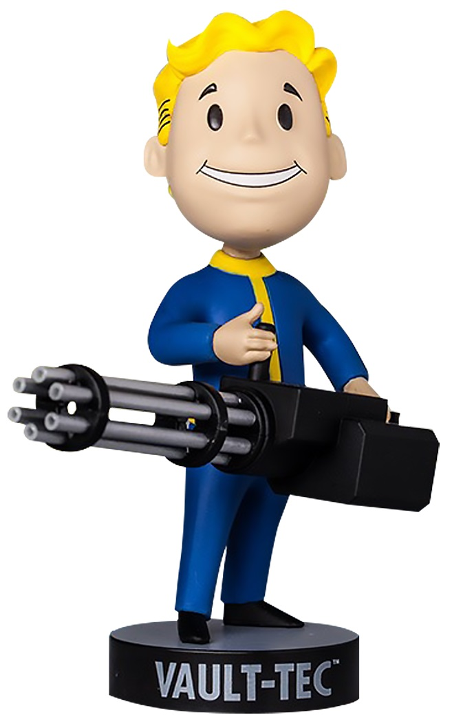 Коллекционная фигурка Fallout 4 Vault Boy 111 Bobbleheads: Big Guns – Series Three (13 см)