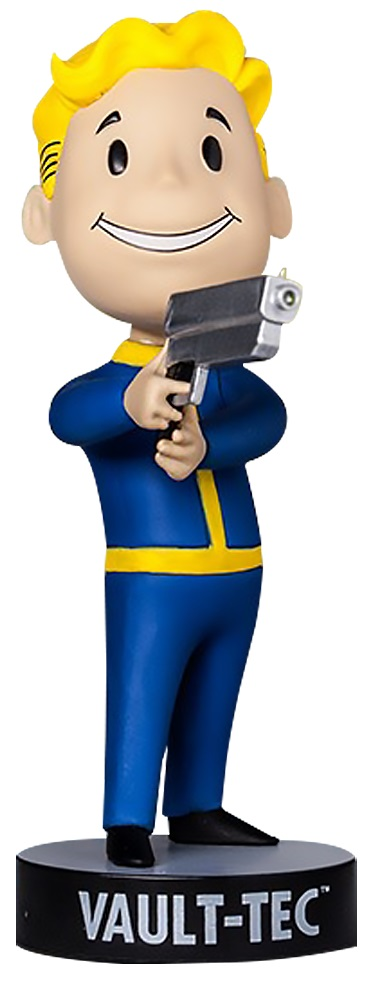 Коллекционная фигурка Fallout 4 Vault Boy 111 Bobbleheads: Small Guns – Series Three (13 см)Фигурка Fallout 4 Vault Boy 111 Bobbleheads: Small Guns – Series Three воплощает Волт-боя в очках, держащего в руках маленький пистолет. В серии игр Fallout Волт-бой является своеобразным символом довоенной организации.<br>