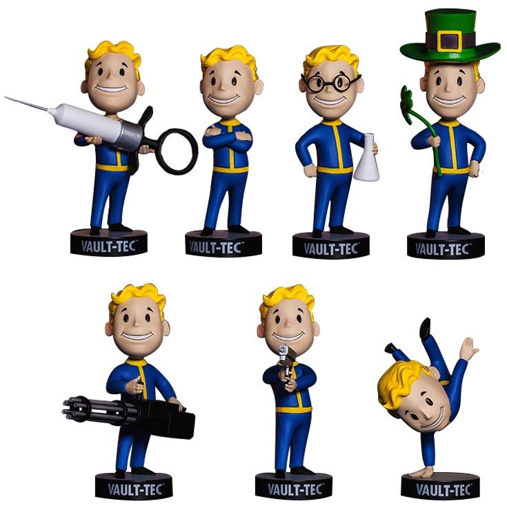 Набор коллекционных фигурок Fallout 4 Vault Boy 111 Bobbleheads: 7 Pack – Series Three (13 см)Закажите набор фигурок Fallout 4 Vault Boy 111 Bobbleheads: 7 Pack – Series Three и получите дополнительные 600 бонусов на вашу карту.<br>