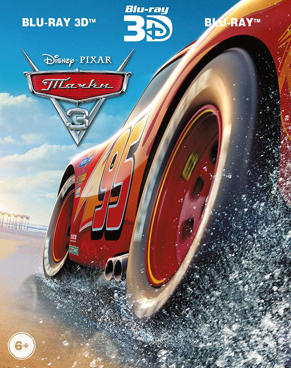 Тачки 3 (Blu-ray 3D + 2 Blu-ray) Cars 3Встречайте самого знаменитого гонщика всех времен, легенду гоночного трека Молнию Маккуина – звезду анимационной картины Тачки 3! Его ждут захватывающие приключения, где он встретит новых друзей, а также поймет, что не только скорость и мощность мотора делают гонщика чемпионом.<br>