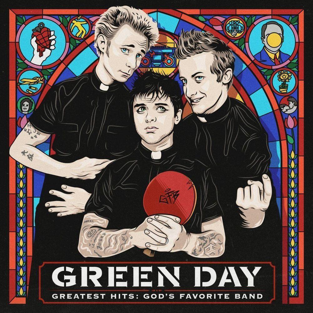 Green Day – Greatest Hits: God's Favorite Band (2 LP)Greatest Hits: God's Favorite Band сборник лучших песен американской рок-группы Green Day. Сборник представляет собой коллекцию лучших хитов, включающую в себя 20 хитов, выпущенных группой за 21 год существования.<br>