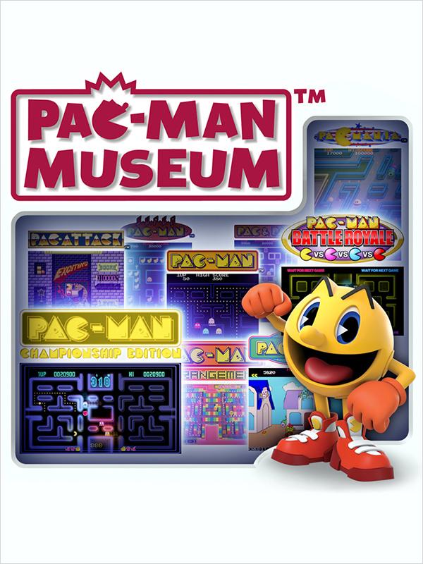 Pac Man Museum (Цифровая версия)Pac-Man появляется в ностальгической коллекции лучших игр про Pac-Man всех времен. Pac-Man Museum включает классические игры, а также новые образцы, позволяя игрокам увидеть его развитие от самого начала в 1980 году до современных хитов, вроде Pac-Man Championship Edition и Pac-Man Battle Royale.<br>